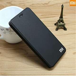 Flip Leather Phone Case for Xiaomi Redmi 4X Black