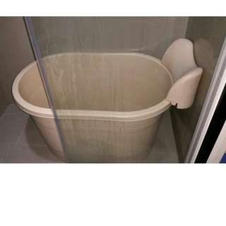 Small Soak Portable Bathtub - Tab Mandi Rendam Dewasa