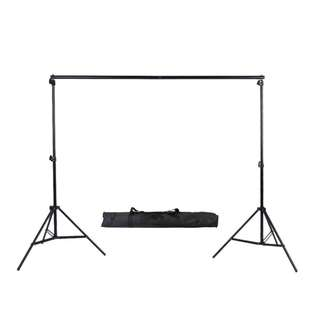 Pxel LSBD2X2 2x2m or 6x6ft Adjustable Muslin Background Backdrop Stand