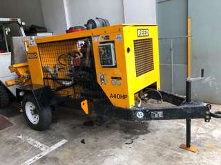 Shotcrete pump