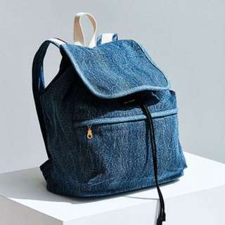 Urban Outfitters UO Denim Backpack