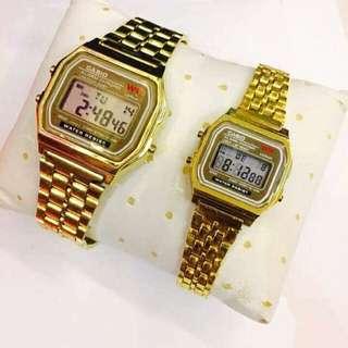Casio Couple Metal Watch