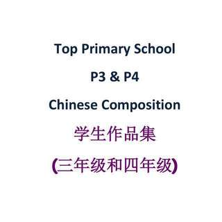 Primary 3 and Primary 4 Chinese Model Composition from top primary school / model compo / exam papers / RGPS / 华文作文