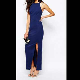 River island embellished strappy maxi dress
