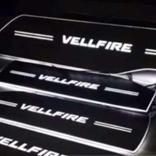 Alphard vellfire 30系 腳踏板