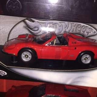 1:18 hot wheels Ferrari dino 246 gt