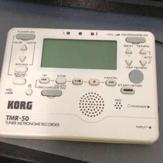 KORG TMR50 tuner-metronome-recorder