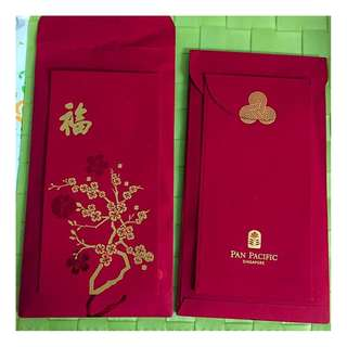 Pan Pacific Hotel Red Packet