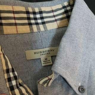 Burberry 男短袖恤衫