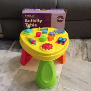 Activity table for kid