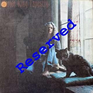 RESERVED - Carol King, Vinyl LP, used, 12-inch original USA pressing