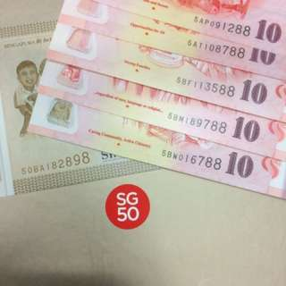 SG50 Commemorative set with folder