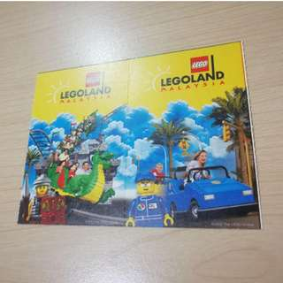 Legoland Combo Tickets x 2