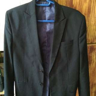 GQ Men's Coat 2 buttoned
