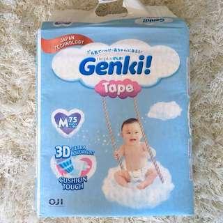 GENKI Tape Diaper M75