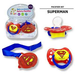 Superman1 Baby Pacifier