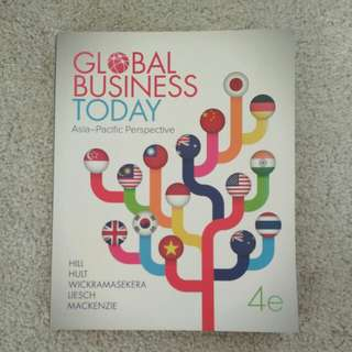Global Business Today 4th Edition