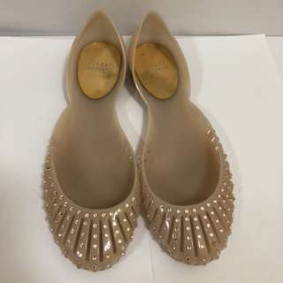 (Good Condition) Stuart Weitzmen jelly shoe