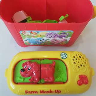 Leap Frog Mix-Match Farm Mash Up