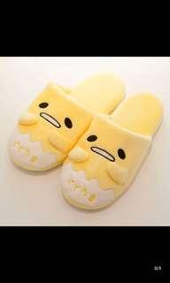 日本gudetama懒蛋蛋拖鞋防滑蛋黄君拖鞋懒懒蛋拖鞋黄哥拖鞋懒蛋蛋