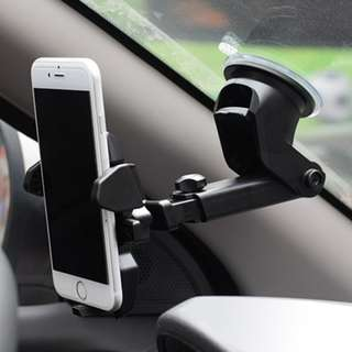 Good Quality Long Neck One Touch Car Mount Cell Phone Holder