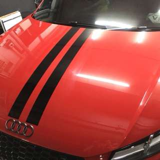 Racing stripe custom