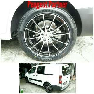 Tyre 235/45 R17 Membat on Peugeot Partner 🐕 Super Offer 🙋♂️