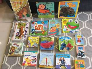 Bundle of books for babies & toddlers (Sesame Street, baby Einstein, Disney, National Geographic kids etc)