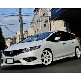 HONDA JADE FR5 HKS HIPERMAX S-STYLE L COILOVERS