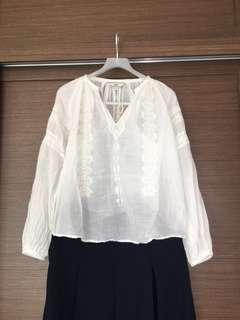 Initial 白色襯衣(1碼)