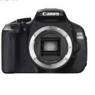 Canon 600D Body (Pre-loved)