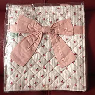 Naraya 粉紅色玫瑰小花手提袋
