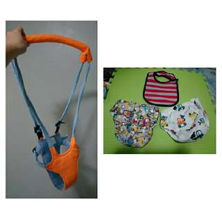 Baby Package A ( Baby Moon Walker + 2 Cloth Diapers) with free Bib