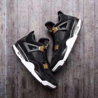 Nike Air Jordan 4 Retro 'Royalty' (New)