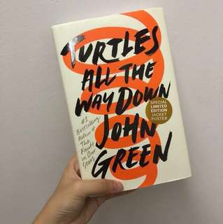 Turtles all the way down by JOHN GREEN #Huat50sales