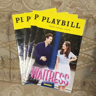 Sara Berailles - Waitress the Musical (Broadway, New York) Playbill