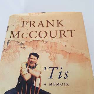 Frank McCourt 'Tis sequel to Angela Ashes
