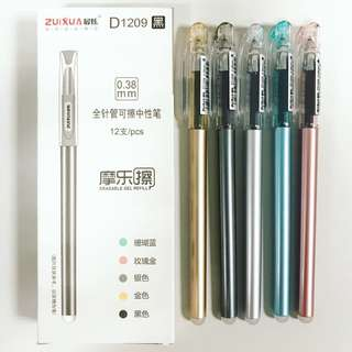 Metallic (Erasable Gel Pen) 12/pcs per box