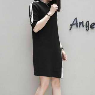 Ella Stylish Dress Black