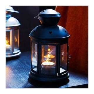 Lantern tea light holder