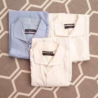 CHEAP! 3 for $38!!! Men working shirt tailor branded