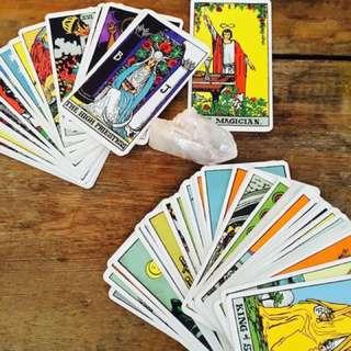 Tarot reading, $1 per question