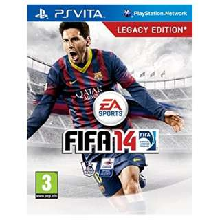 PS Vita FIFA 14 with box