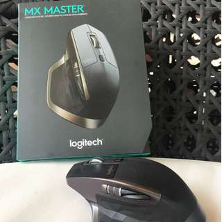 Logitech MX Master complete with box and accessories (9/10)