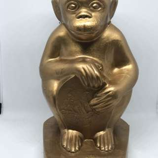 Vintage Ban Hin Lee Bank Monkey Coin Bank
