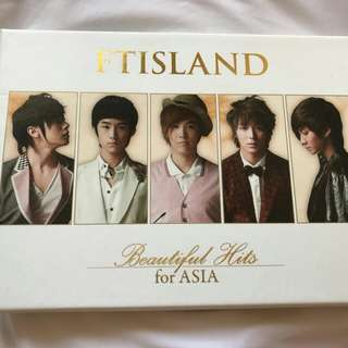 "FT ISLAND  ""Beautiful Hits"""