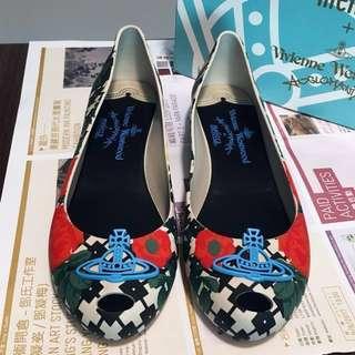VW鞋(USA 7=38號=24cm) Vivienne Westwood