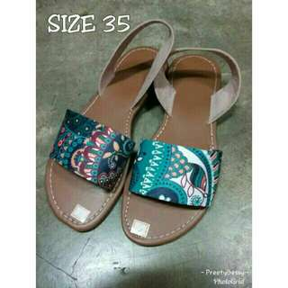 Marikina Sandals Printed