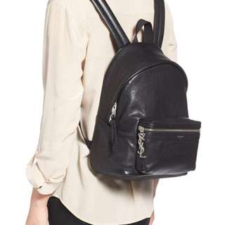 YSL genuine leather backpack