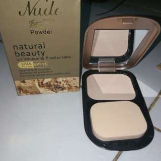 Ashley shine nude powder cake